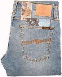Nudie Jeans - Nudie Saltwater Indigo Tight Long John Jean - Lyst