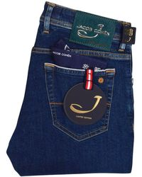 8202117e Jacob Cohen - Blue Limited Edition Denim Jeans - Lyst