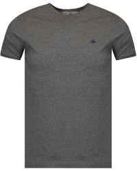 Vivienne Westwood - Grey Short Sleeve T-shirt - Lyst