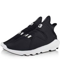 Y-3 - Black/white Suberou Trainers - Lyst