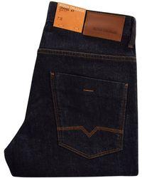 BOSS Orange - Orange 63 Dark Blue Slim Fit Jeans - Lyst