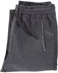 BOSS Athleisure - Grey Contrast Leg Logo Joggers - Lyst