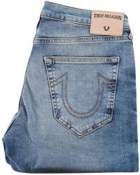 True Religion - Desert Wall Geno Relaxed Slim Jeans - Lyst