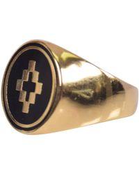 Marcelo Burlon - Gold Cross Ring - Lyst