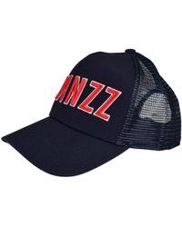 TWINZZ - Navy/red Trucker Cap - Lyst