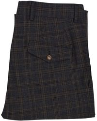 Vivienne Westwood - Brown Check Suit Trousers - Lyst
