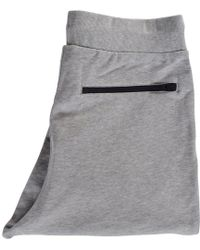 Y-3 - Grey Text Logo Sweatpants - Lyst