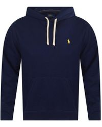 0b10b592f Polo Ralph Lauren Wine Logo Pullover Hoodie in Red for Men - Lyst