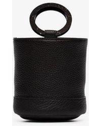 Simon Miller - Black Bonsai 15 Leather Bucket Bag - Lyst