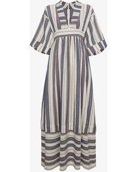 Three Graces London - V Neck Maxi Dress - Lyst