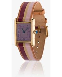 La Californienne - Denia Violet Spice Cartier Watch - Lyst