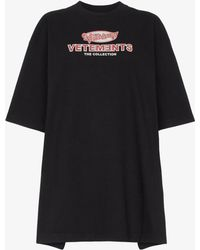 Vetements - Open Sides T-shirt - Lyst