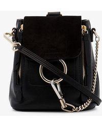 Chloé - Faye Mini Leather Backpack - Lyst
