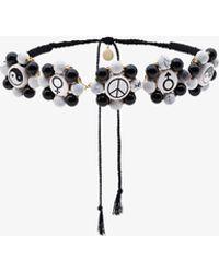 Venessa Arizaga - Multi Charm Necklace - Lyst