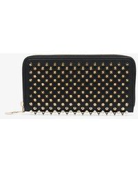 Christian Louboutin - Black Panettone Wallet Spike - Lyst