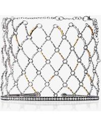 Gaelle Khouri | White Diamond Bracelet | Lyst