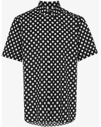 Dolce & Gabbana - Polka Dot Print Shirt - Lyst