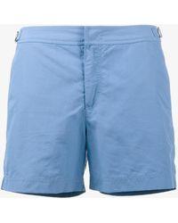 Orlebar Brown - Pale Blue Setter Swim Shorts - Lyst