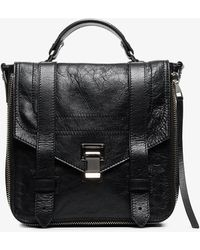 Proenza Schouler - Black Ps1 Leather Backpack - Lyst