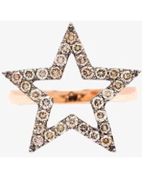 Rosa De La Cruz - Diamond Star Ring - Lyst