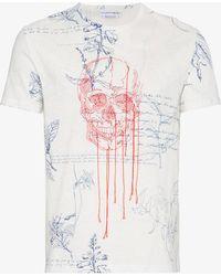 Alexander McQueen - Explorer Printed T Shirt - Lyst