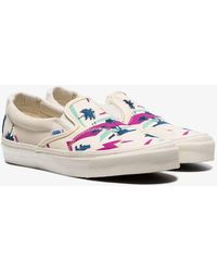 8fa1334353 Lyst - Vans Ivory Canvas Og Authentic Lx Sneakers in White for Men