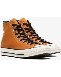 Converse - Orange Chuck Taylor All Stars 70's High-top Sneakers - Lyst
