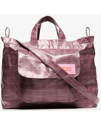 Natasha Zinko Pink No Returnz No Refundz Holdall Bag