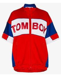 Filles A Papa - Tomboy Marvin Cotton-blend Track Jacket - Lyst