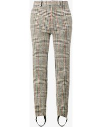 Y. Project - Tweed Tailored Stirrup Trousers - Lyst