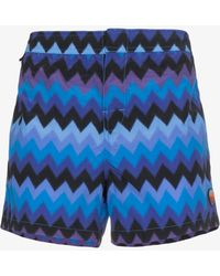 Missoni - Large Zig Zag Swimshorts - Lyst
