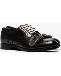 Gucci - Buckled Oxfords - Lyst
