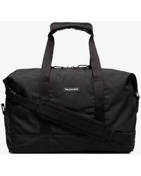 Balenciaga - Embossed Explorer Gym Bag - Lyst