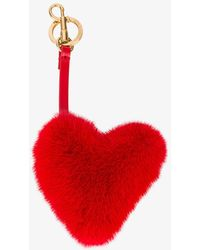Anya Hindmarch - Heart Bag Charm - Lyst