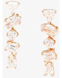 Kimberly Mcdonald - 18k Rose Gold Diamond Stud Earrings - Lyst