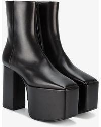 Balenciaga - Platform Booties - Lyst