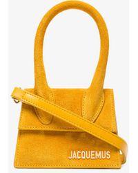 Jacquemus - Yellow Le Sac Chiquito Suede Mini Bag - Lyst