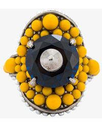 Gucci - Multi-beaded Ring - Lyst