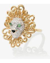 Yvonne Léon - Lion Diamond Ring - Lyst