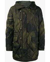 Moncler - Gaillon Feather Down Camouflage Jacket - Lyst