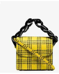 Marques'Almeida - Tartan Chain Pony Hair Mini Bag - Lyst