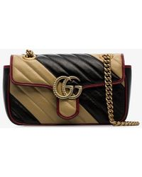 6082a03d5 Gucci Medium Gg Marmont 2.0 Tokyo Print Bag in Red - Lyst