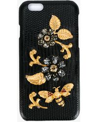 Dolce & Gabbana - Crystal Embellished Iphone 6 Case - Lyst