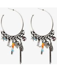 DANNIJO - Ajani Hoop Earrings - Lyst