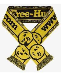 Vetements - Hooligan Free Hugs Scarf - Lyst