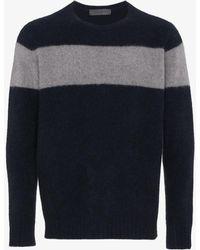 The Elder Statesman | Striped Cashmere Sweater | Lyst