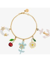 Miu Miu - Multicoloured Charm Bracelet - Lyst