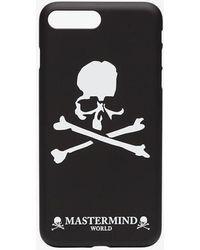Mastermind Japan - Black And White Skull Print Iphone 7/8 Phone Case - Lyst