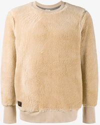 WTAPS Grizzly Lambswool Sweater - Natural
