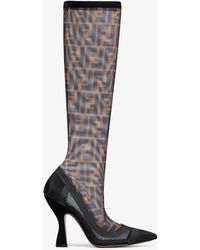 Fendi - Colibrì Knee High Boots - Lyst